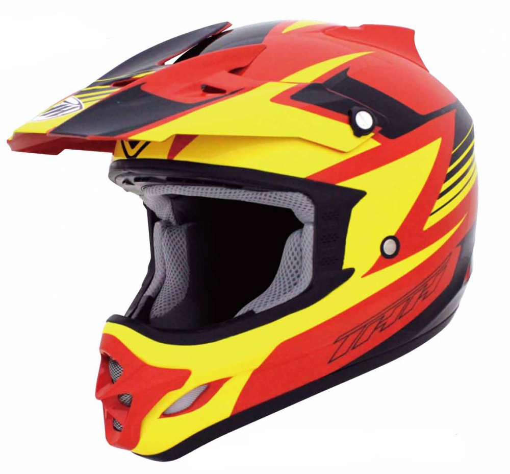 Шлем THH TX-23#15 RED/YELLOW BLK